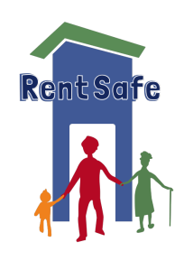 RentSafe logo transpartent background